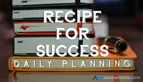 recipeforsuccessdailyplan