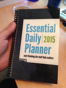 Essential Daily Planner