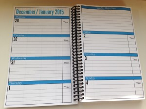 Essential Daily Planner Week View
