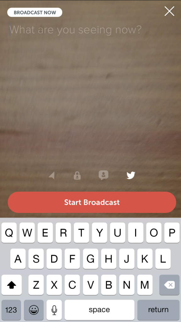 how to broadcast on periscope