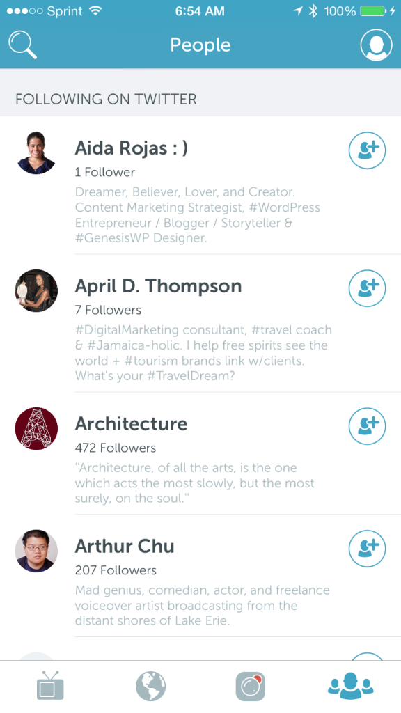 how to find people on periscope