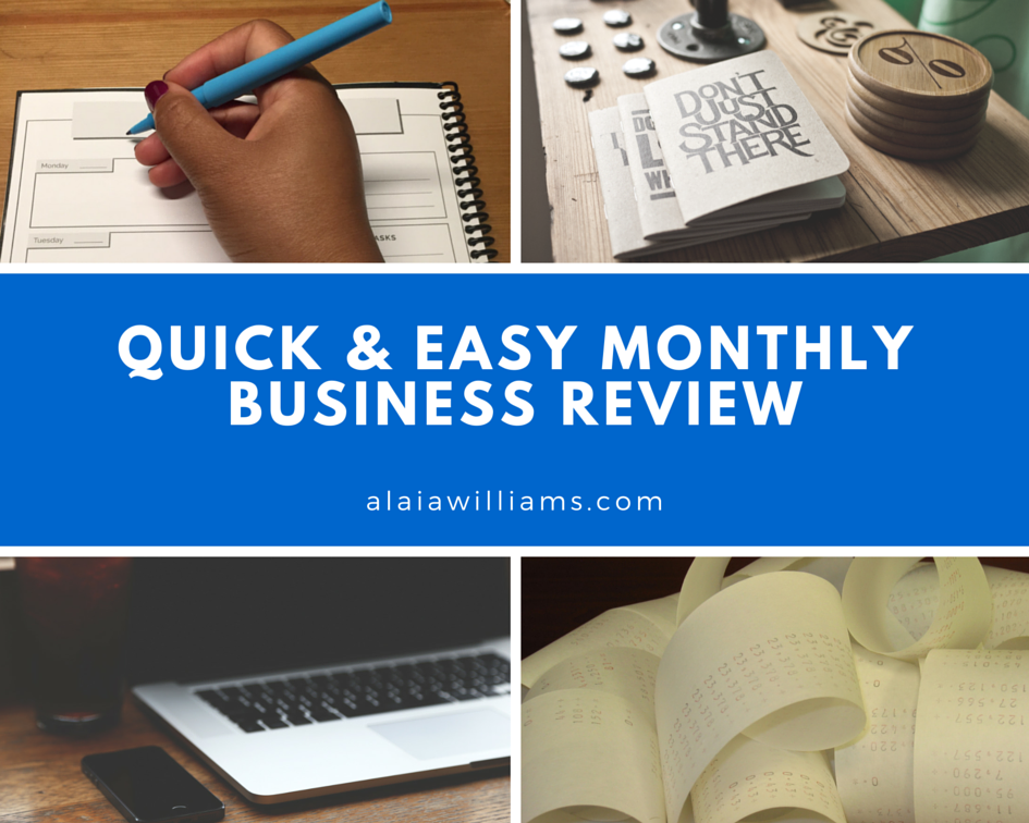 Quick And Easy Monthly Business Review: 4 Must-Have Touchpoints