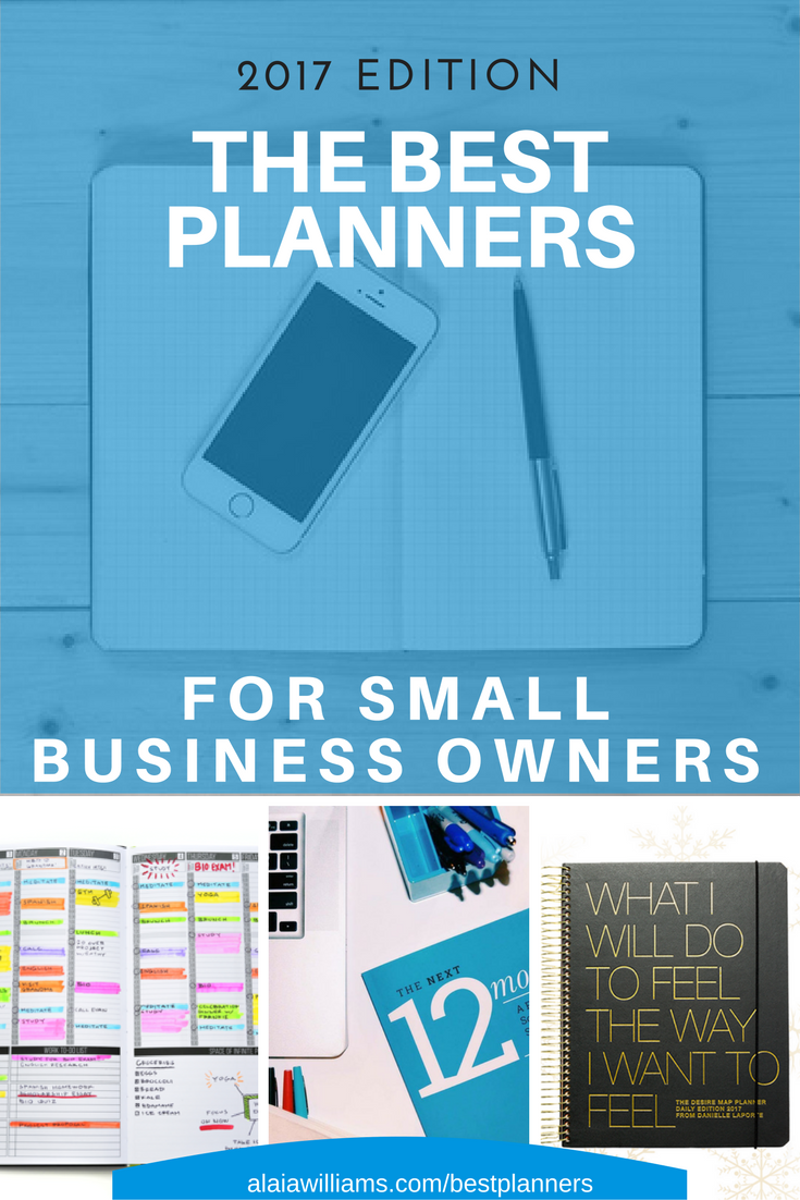 Best Planners For Small Business Owners: 2017 Edition